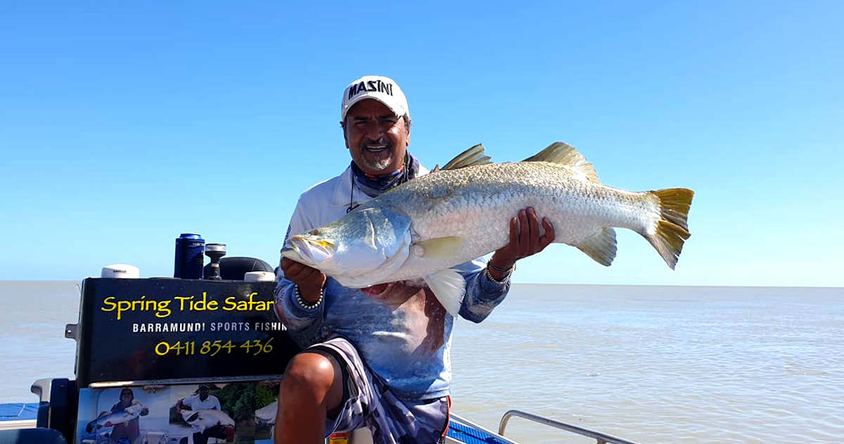Top End fishing during the Covid-19 lockdown with Spring Tide Safaris Northern Territory